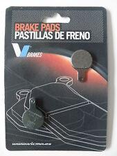 PASTIGLIE FRENO KEVLAR BICI /MTB /BICICLETTA PER TECTRO IOX (COD:0933)
