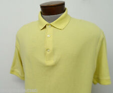 PING CASUAL GOLF POLO SHIRT sz L mens yellow ^2432