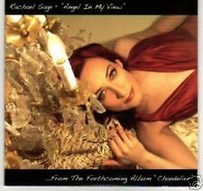 (C285) Rachael Sage, Angel In My View- DJ CD