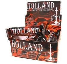 Holland Quick Start Charcoal for Hookah Shisha  - 2 Boxes Of 100pcs 33mm Tablet