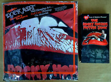 ROCKY HORROR SHOW - 25TH ANNIVERSARY VHS TAPE + ROCKY HORROR - SEALED TAPESTRY