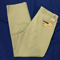 Dockers Pleated Khaki Classic Fit Non-Iron Chino Pants Mens Size 36x34 NEW $65
