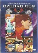 DVD CYBORG 009 UNEDITED AND UNCUT (ENGLISH)