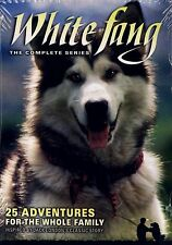 BRAND NEW 3DVD FAMILY FEATURE DVD // WHITE FANG - THE COMPLETE SERIES