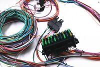 New Universal 20 Circuit Wiring Harness Kit Street Rod Hot Rod Race Car
