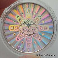 2014 Canada Interconnections Air Thunderbird $20 Coin 1 oz Silver #coinsofcanada