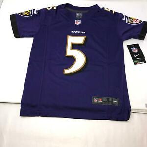 Baltimore Ravens Joe Flacco #5 NFL Nike Jersey New Youth Size Small