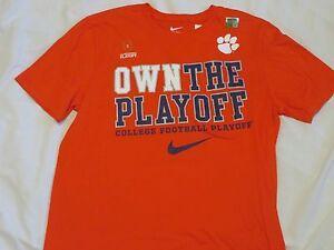 NCAA Clemson Tigers National Championship Nike T-Shirt L/Large NWT