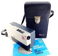 Kodak M4 Instamatic Movie Camera Made in U.S.A