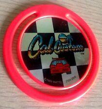 Vintage 1989 Mattel Cal Customs Hot Wheels Car Token Bookmark Collectable 1980s