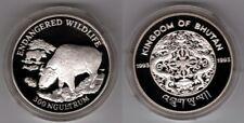 BHUTAN   300 Ngultrum 1993   Takin   WWF   Silber/PP