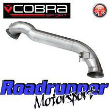 MN17 Cobra Mini Cooper S R56 & R57 De-Cat Downpipe Exhaust Removes Cat - ByPass