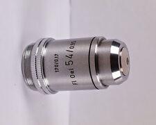 Leitz FL 54x /.95 Oil 170 TL Microscope Objective