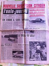 >L'AUTO-JOURNAL n°107 du 08/1954; Essai Talbot Grand Sport/ Essai Equipement