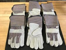 Boss 1jl7475 Rn15671 Large Leather Palm Gloves Lot Of 6 Pair