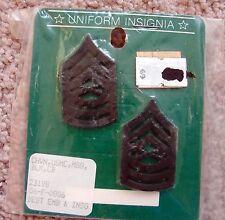 NEW MILITARY UNIFORM INSIGNIA - U.S. MARINE CORPS SERGEANT RANK