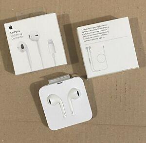 Genuine Lightning Headphones EarPhones Handsfree iPhone 7 8 X 11 12 13 Pro Max