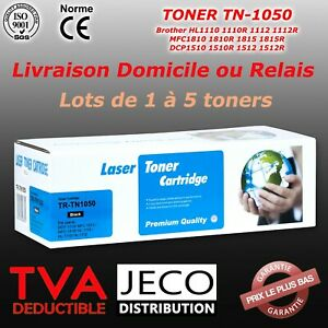 Toner Laser Brother TN1050 compatible DCP1512 1612W HL1112 HL1212W MFC1810 1910W