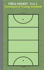 Field Hockey 2 in 1 Tacticboard and Training Workbook (Paperback or Softback)