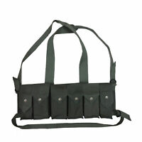 Bush War Magazine Chest Rig with Grenade Pocket OD Green - Reproduction l638