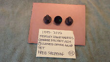 1995-2002 GRAND MARQUIS GENUINE FACTORY 3 CLIMATE CONTROL KNOBS FREE SHIPPING