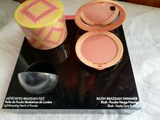 Présentoir parfum de luxe avec Blush en éd.limitée 2020 , Brazilian shimmer TBE
