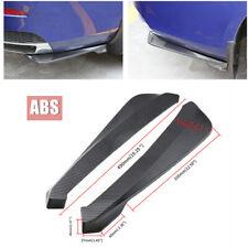 2Pcs Universal Car Bumper Spoiler Rear Lip Diffuser Wrap Angle Shovel Protector