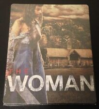 THE WOMAN Blu-Ray SteelBook UK Exclusive Region ABC 1/2000 Horror Adult 18+ Only
