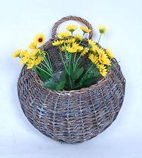 Beautiful Wall Hanging Basket,Planter, Wicker Basket,Swallow nest shape Basket