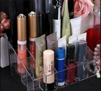 Clear Acrylic 40 Lipstick Holder Display Stand Cosmetic Organizer Makeup Case J