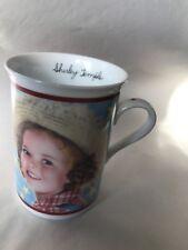"Danbury Mint Shirley Temple Porcelain Mug ""Rebecca Of Sunny brook Farm�"