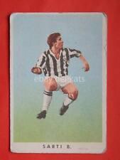 VECCHIA FIGURINA RASA calcio football 1961 Juventus Benito Sarti  *