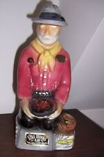 1969 EZRA BROOKS Bourbon Whiskey Decanter Gold Rush Miner - Heritage China (#2)