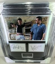 Danny Dyer & Tamer Hassan SIGNED PHOTO DISPLAY The Business AFTAL COA