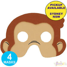 CURIOUS GEORGE BIRTHDAY PARTY SUPPLIES 48 FAVOURS PACK LOOT BAG TATTOO TOYS