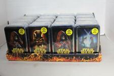 STAR WARS ROTS TOPPS MOVIE CARD TINS x16 Factory Sealed w/Retail Display 2005