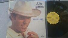 Julio Iglesias - Dieciseis años anos Vinyl LP CHILE