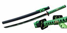 "41"" Samurai Sword Zombie Theme w/ Black Blade Zombie Hunter Walking Dead"