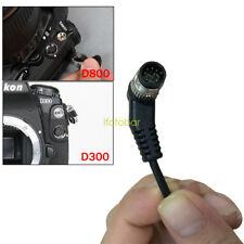 Timer Remote Shutter Removable Cord For Nikon D810 D800 D800E D4 D200 D300 D700
