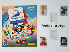 WM 1998, 20 Sticker stickers Panini World Cup 98 Frankreich France
