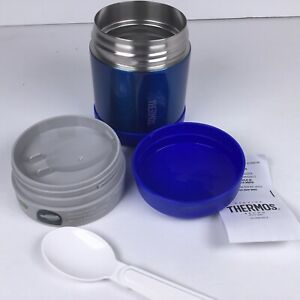 Thermos Lunch Screw Top Container Funtainer 10oz with Lid and Spoon. F5