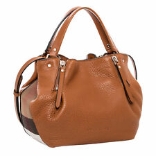 Free shipping. Burberry Women s Small Brit   Canvas Maidstone Tote Brown 323e890c9d4b4