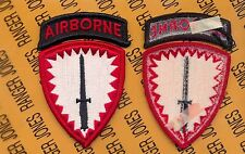 US Army Special Operations Command Europe Airborne SOCEUR uniform patch m/e
