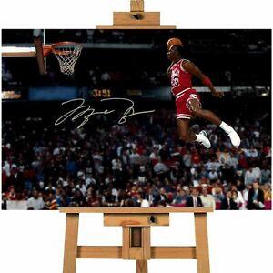 Michael Jordan The Jump Canvas Print Wall Art CVTDEC150016