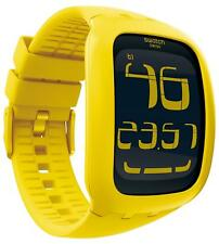 SWATCH WATCH - TOUCH YELLOW - MINT & BOXED