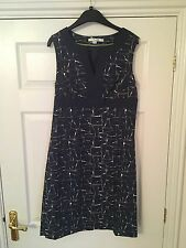 Boden navy size 12 dress