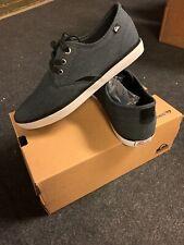 Quiksilver Men's Shorebreak Deluxe Sneaker Shoes, SIZE 8, Black/Gray