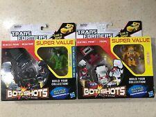 Transformers Bot Shots Battle Game Series 1 BP001 To B006 P/N 7239120000 New!