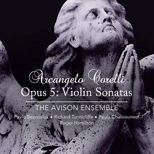 Arcangelo Corelli Violin Sonatas op.5 The Avison Ensemble Linn Records 2 CDs