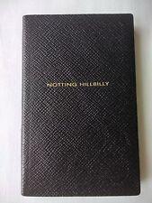 SMYTHSON PANAMA 'NOTTING HILLBILLY' NOTEBOOK in Black RRP £45.00 BN